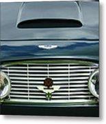 1963 Aston Martin Db4 Series V Vantage Gt Grille Metal Print by Jill Reger