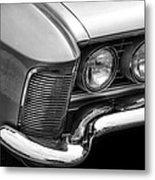 1963 Buick Riviera B/w Metal Print