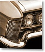 1963 Buick Riviera Sepia Metal Print
