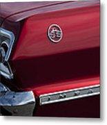 1963 Chevrolet Impala Ss Taillight Metal Print