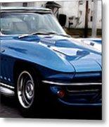 1963 Corvette Metal Print