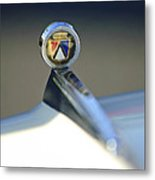 1963 Ford Futura Hood Ornament Metal Print