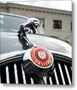 1963 Jaguar Emblem Metal Print