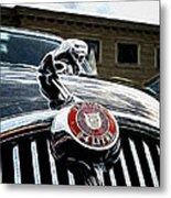 1963 Jaguar Mkii Fantasy Car Metal Print