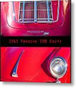 1963 Red Porsche S90 Coupe Poster Metal Print
