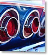 1964 Chevrolet Impala Ss Taillight 2 Metal Print