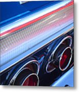 1964 Chevrolet Impala Ss Taillight Metal Print