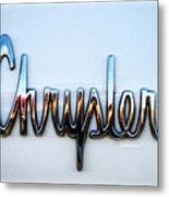 1964 Chrysler Emblem  Metal Print