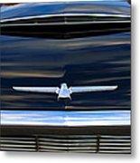 1964 Ford Thunderbird Hood Emblem Metal Print