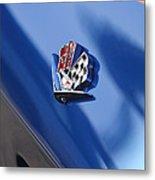 1965 Chevrolet Corvette Emblem Metal Print