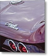 1965 Chevrolet Corvette Tail Light Metal Print