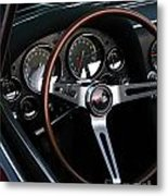 1965 Corvette Roadster Dash Metal Print