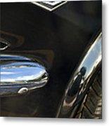 1965 Ford Mustang Emblem 3 Metal Print