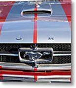 1965 Ford Mustang Front End Metal Print
