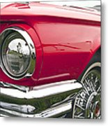 1965 Ford Thunderbird Front End Metal Print
