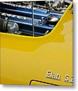 1965 Lotus Elan S2 Engine Metal Print