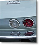 1966 Chevrolet Corvette Tail Light 2 Metal Print