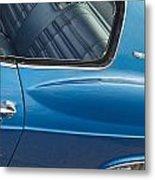 1966 Chevy Caprice Chevrolet Back Clip Metal Print