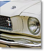 1966 Ford Shelby Gt 350 Grille Emblem Metal Print