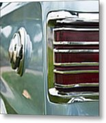 1966 Plymouth Satellite Tail Light Metal Print