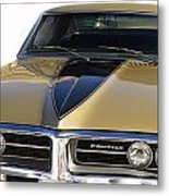 1967 Bronze Pontiac Firebird  Metal Print