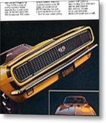 1967 Camaro Ss Metal Print