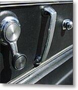 1967 Chevrolet Corvette Door Controls Metal Print
