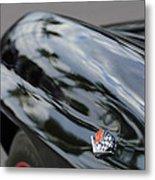 1967 Chevrolet Corvette Fender Emblem Metal Print