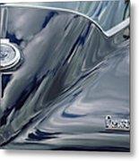 1967 Chevrolet Corvette Rear Emblem 2 Metal Print