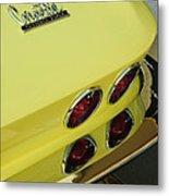 1967 Chevrolet Corvette Taillight Metal Print