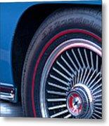 1967 Chevrolet Corvette Wheel 2 Metal Print