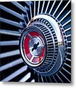 1967 Chevrolet Corvette Wheel Metal Print