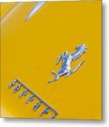 1967 Ferrari 275 Gtb4 Emblem 3 Metal Print