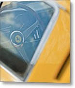 1967 Ferrari 275 Gtb4 Steering Wheel Metal Print