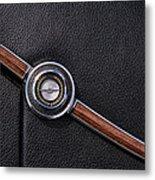 1967 Ford Thunderbird Rear C-pillar Emblem Metal Print