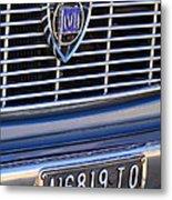 1967 Lancia Fulvia Berlina Grille Emblem Metal Print