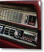 1967 Oldsmobile Cutlass 4-4-2 Dashboard Metal Print