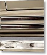 1967 Pontiac Firebird Back Lights Close Up Metal Print