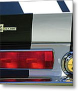 1967 Shelby Gt500 Fastback Taillight Emblem Metal Print