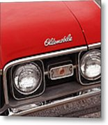 1968 Oldsmobile Cutlass Supreme Metal Print