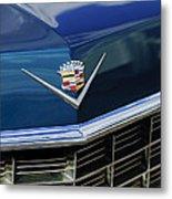 1969 Cadillac Hood Emblem Metal Print
