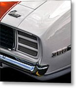 1969 Chevrolet Camaro Indianapolis 500 Pace Car Metal Print by Gordon Dean II