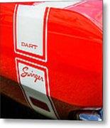 1969 Dodge Dart Swinger 340 Metal Print by Thomas Schoeller