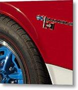1969 Sc Rambler Wheel Emblem Metal Print