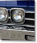 1970 Chevrolet Chevelle Antique Show Car Metal Print