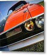 1970 Dodge Challenger Rt Hemi Orange Metal Print