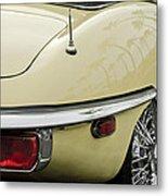 1970 Jaguar Xk Type-e Taillight 2 Metal Print