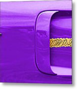 1970 Plum Crazy Plymouth Road Runner Metal Print