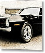 1970 Plymouth Cuda Metal Print by Phil 'motography' Clark