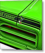 1970 Plymouth Road Runner - Sublime Green Metal Print